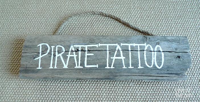 drivved tavla piratetatto