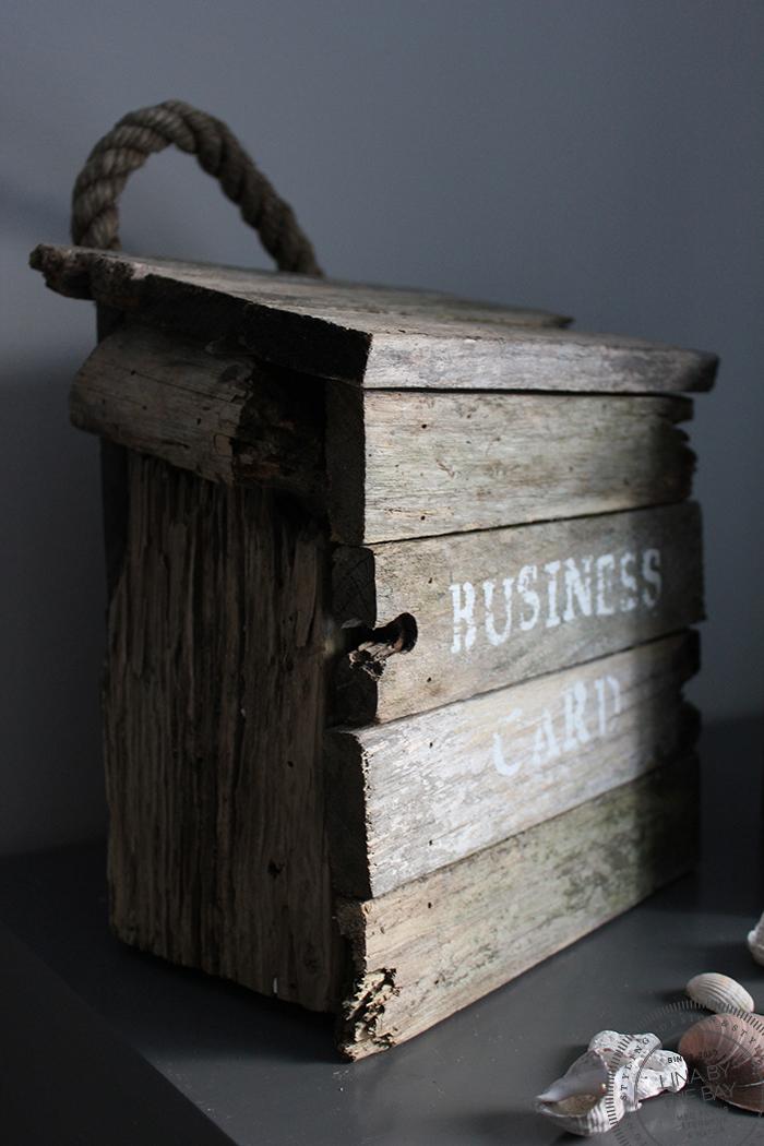 Mailbox driftwood 1