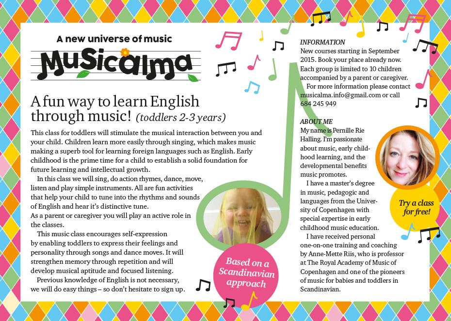 Musicalma flyer