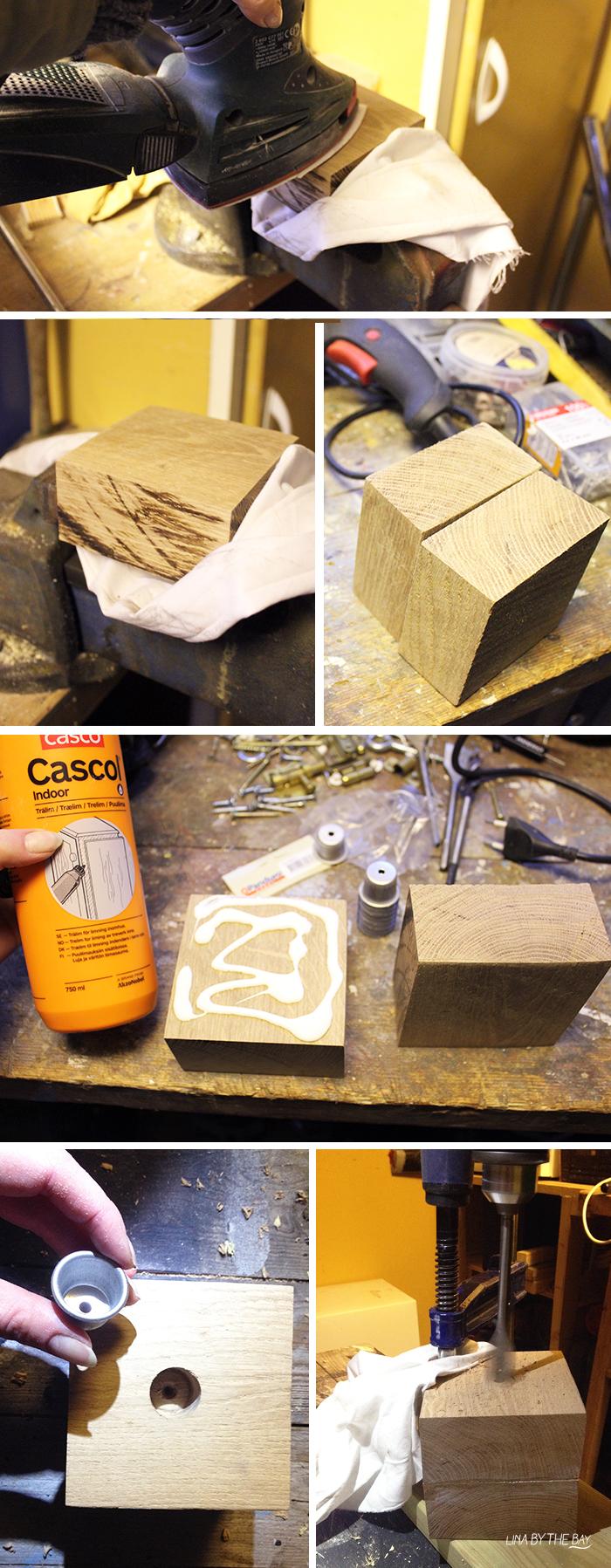 Ljusstake wood 5