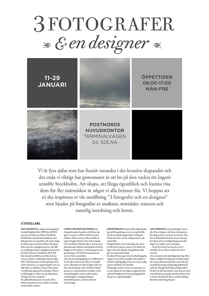 3 fotografer & en designer