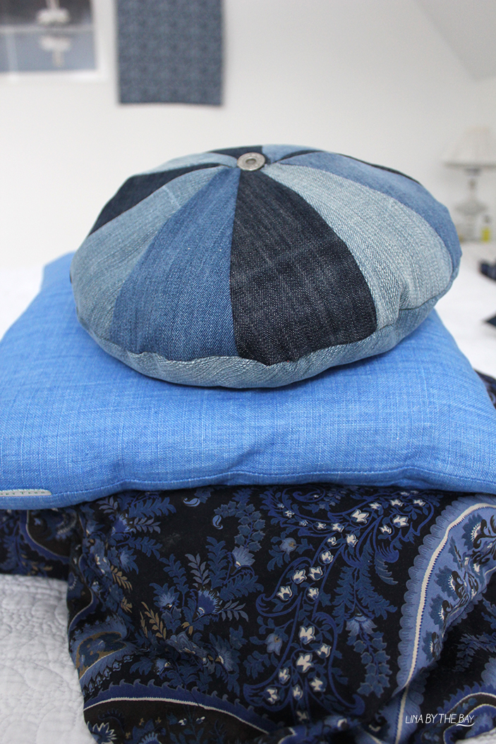 Diy jeans pillow Lina by thebay 7