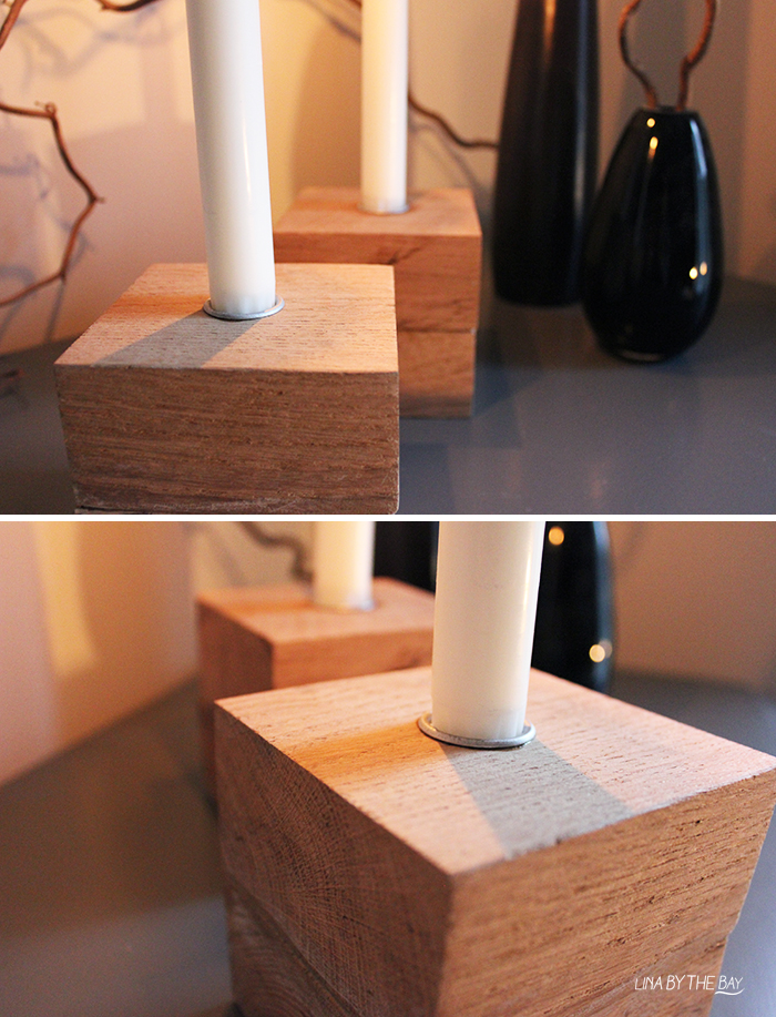 Ljusstake wood 4