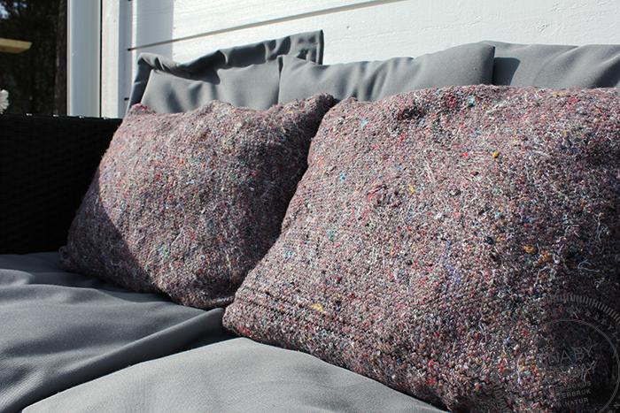 Upcycled pillows 3 Linabythebay